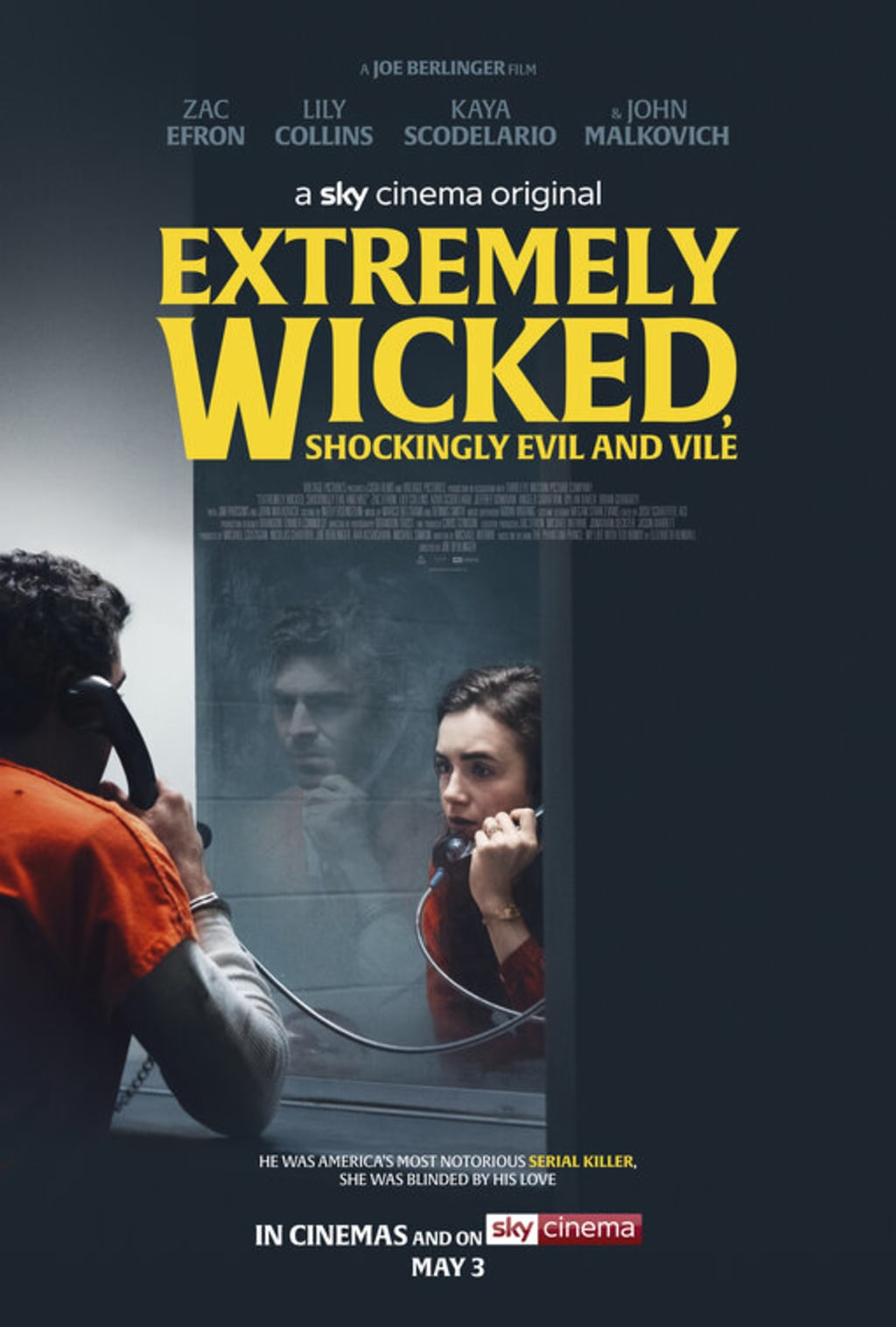 Extremely Wicked, Shockingly Evil, and Vile(2019)